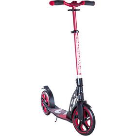 SIX DEGREES Aluminium Scooter 230/215mm Kids, rood/zwart